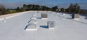 TPO and EPDM flat roofing