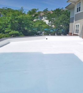flat roof in capitol hill dc