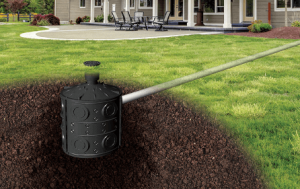 dry well stormwater management system