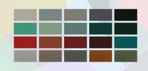 Color options for metal roofs