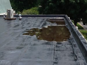 Flat Roof Drainage Problems